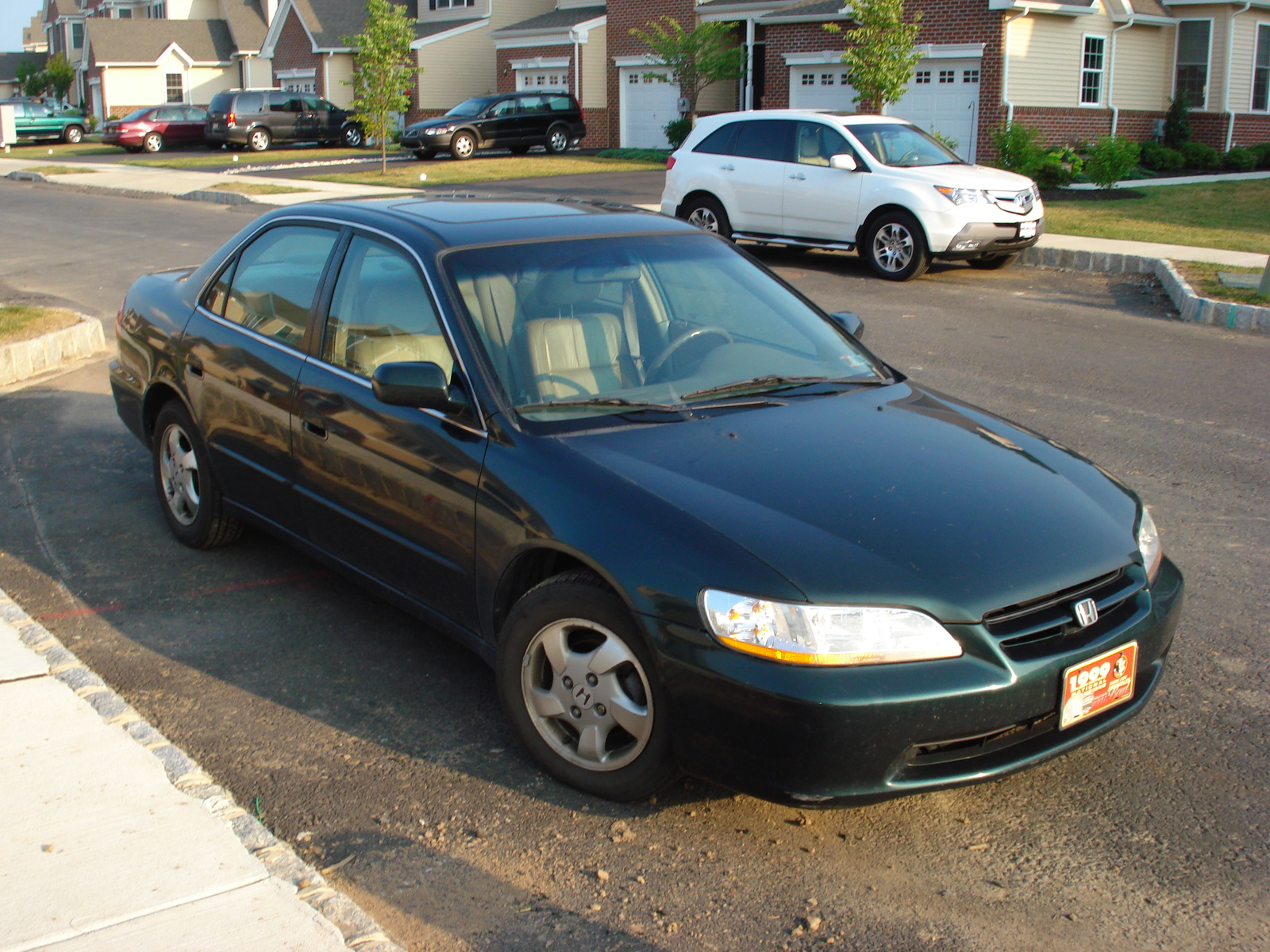 1999 Honda Accord EX, Picture of 1999 Honda Accord 4 Dr EX Sedan, exterior