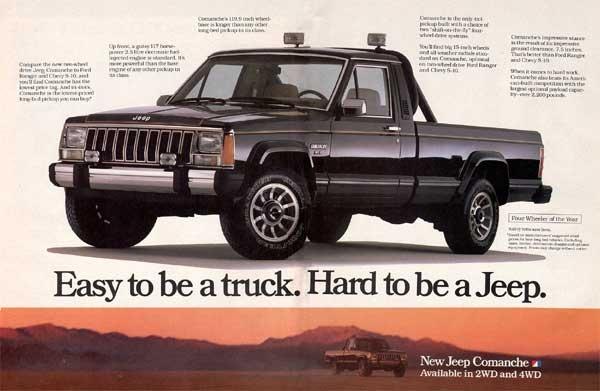 1989 jeep comanche overview cargurus. Black Bedroom Furniture Sets. Home Design Ideas