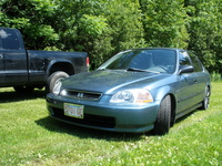1997 Honda Civic LX, Decent, exterior