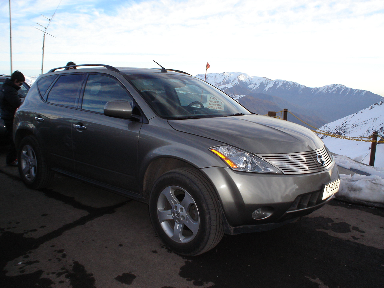 2005 nissan murano related infomation specifications weili automotive network. Black Bedroom Furniture Sets. Home Design Ideas