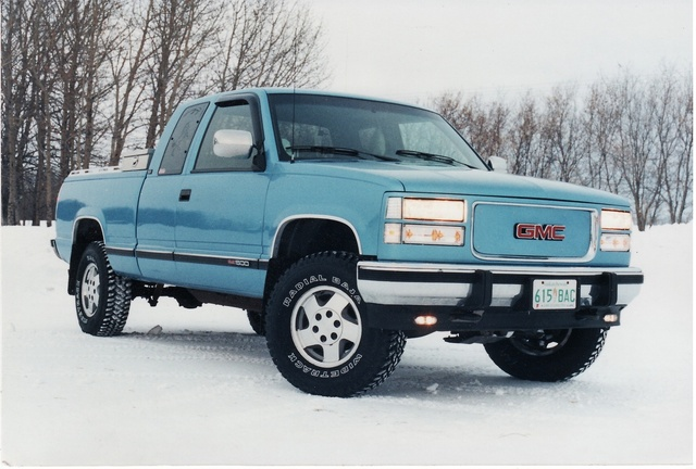 Gmc Sierra Dr K Sle Wd Extended Cab Sb Pic X on 1994 Ford F 150 Extended Cab