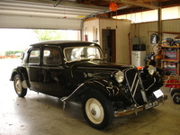 1956 Citroen Traction Avant Overview