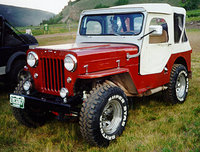 1959 Jeep CJ3B Overview