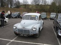 1954 Morris Minor Overview