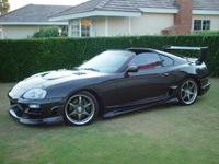 1993 Toyota Supra, 1998 Toyota Supra 2 Dr Turbo Hatchback picture, exterior