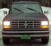 Picture of 1990 Ford Bronco II 2 Dr XLT 4WD SUV, exterior