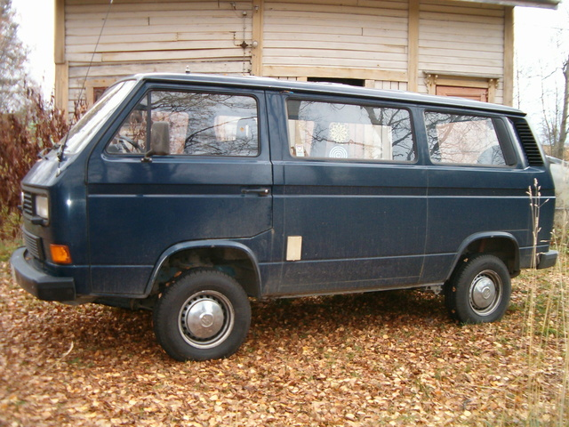 Picture of 1989 Volkswagen Caravelle