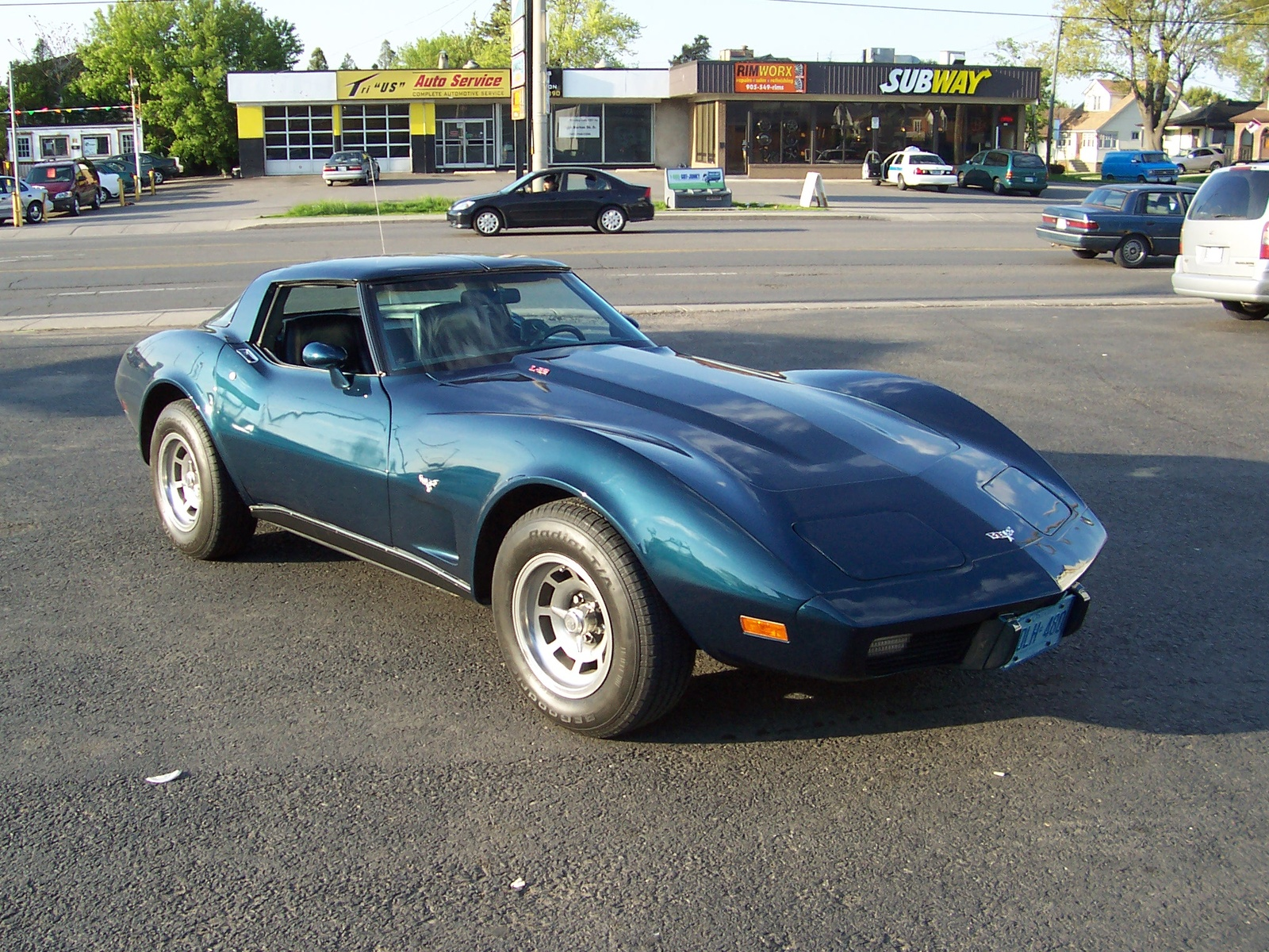 1979 stingray autos weblog for Garage chevrolet luxembourg