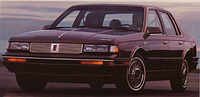 1988 Oldsmobile Cutlass Ciera Overview