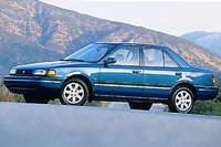 Picture of 1992 Mazda Protege 4 Dr DX Sedan, exterior
