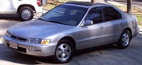 1997 Honda Accord Special Edition, 1997 Honda Accord 4 Dr Special Edition Sedan picture, exterior