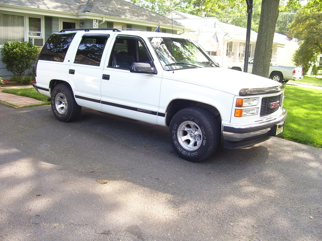Picture of 1998 GMC Yukon SLE, exterior
