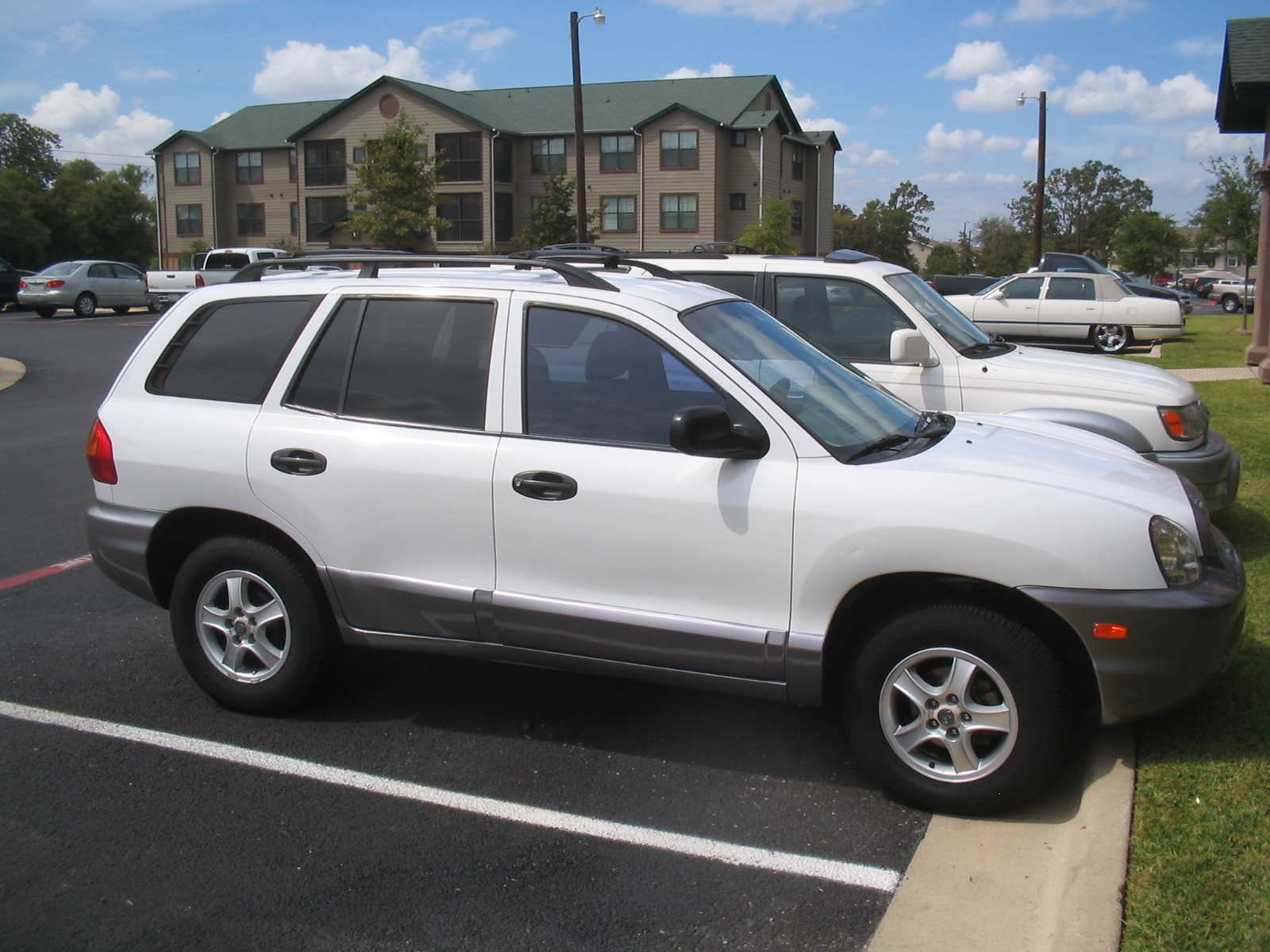 picture of 2001 hyundai santa fe gl exterior. Black Bedroom Furniture Sets. Home Design Ideas