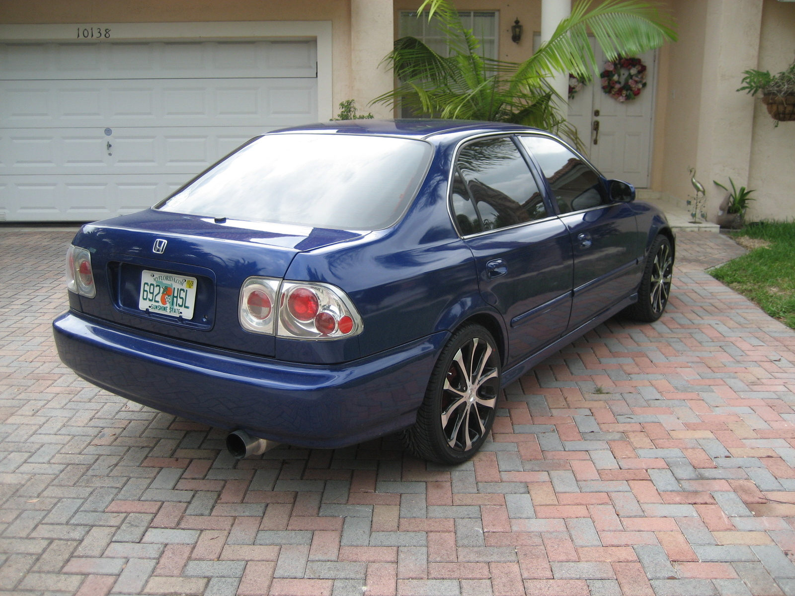 picture of 1997 honda civic lx exterior. Black Bedroom Furniture Sets. Home Design Ideas