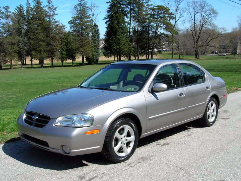 00 2000 Nissan Maxima owners manual