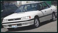 1991 Subaru Legacy Overview