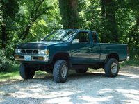 Picture of 1995 Nissan Pickup 2 Dr XE 4WD Standard Cab SB, exterior