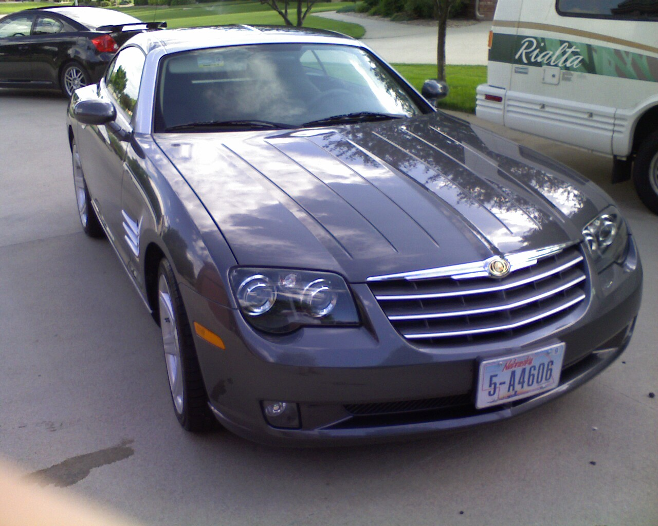 2004 chrysler crossfire base picture exterior. Cars Review. Best American Auto & Cars Review