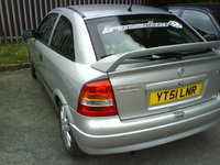 2002 Vauxhall Astra, Day Spoiler Was fitted, exterior