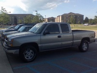 2003 Chevrolet Silverado 1500 LT Ext Cab Short Bed 4WD picture, exterior