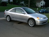 2003 Honda Civic, 2001 Honda Civic EX Coupe picture, exterior