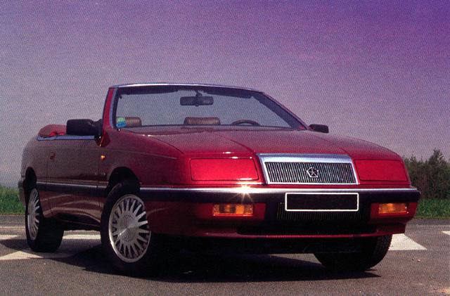 1992 Chrysler Le Baron 2 Dr LX Convertible picture, exterior