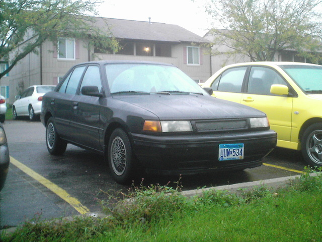 Picture of 1990 Mazda Protege 4 Dr LX Sedan