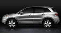 2009 Acura RDX, side view, exterior, manufacturer