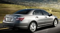2009 Acura RL, side view, manufacturer, exterior