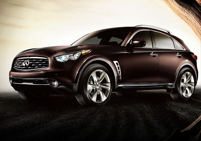2009 INFINITI FX35, side view, exterior, manufacturer, gallery_worthy