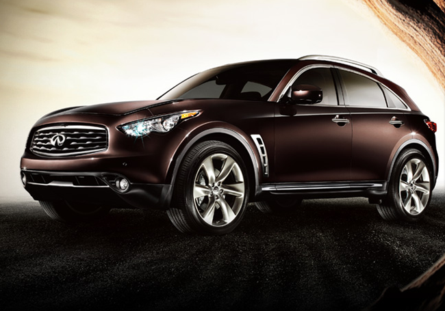 2009 Infiniti FX35, side view, manufacturer, exterior