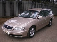 2001 Vauxhall Omega Overview