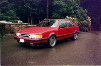 1992 Saab 9000 4 Dr Turbo Hatchback, 1991 Saab 9000 4 Dr Turbo Hatchback picture (2nd car), exterior