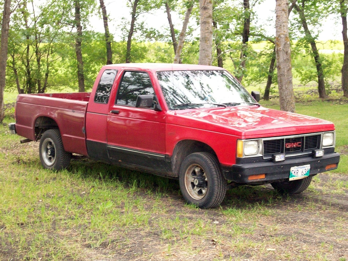 1991 Gmc Sonoma Test Drive Review Cargurus
