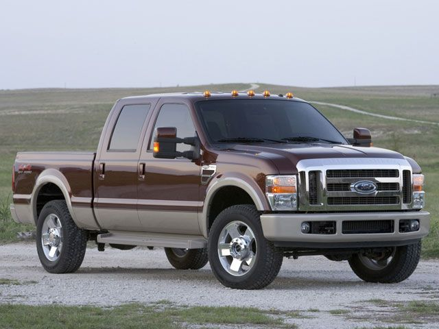 2008 Ford F-250 Super Duty Lariat Crew Cab 4WD picture