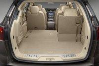 2009 Buick Enclave, Trunk Interior, interior, manufacturer