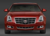 2009 Cadillac CTS, Front View, exterior, manufacturer