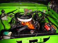 1975 Plymouth Duster picture, engine