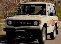 1982 Mitsubishi Pajero Picture Gallery
