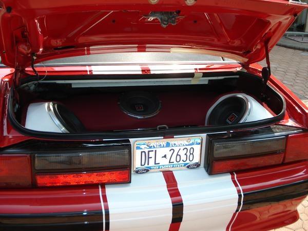 1989 Mustang Interior