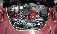 1971 Volkswagen Beetle picture, engine