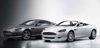 2008 Aston Martin DB9, Double Left View, manufacturer, exterior