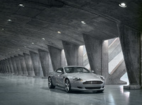 2008 Aston Martin DB9, Front Right Quarter View, manufacturer, exterior
