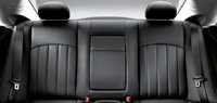 2009 Mercedes-Benz CLS-Class, Interior Back Seat View, interior, manufacturer