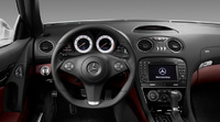 2009 Mercedes-Benz SL-Class, Interior Dash View, manufacturer, interior