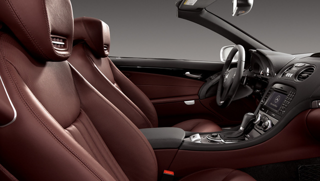 2009 Mercedes-Benz SL-Class, Interior Front Side View, interior, manufacturer