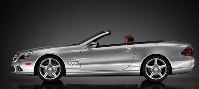 2009 Mercedes-Benz SL-Class, Left Side View, exterior, manufacturer