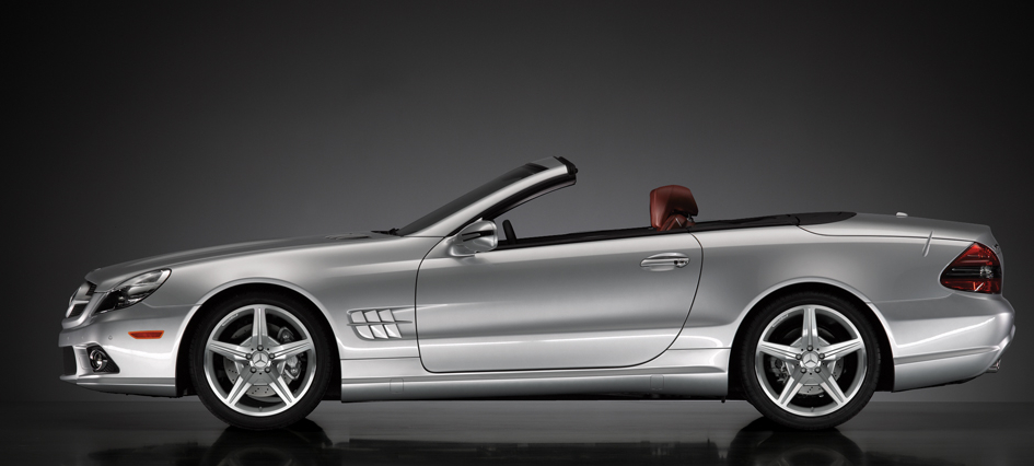 2009 Mercedes-Benz SL-Class, Left Side View, manufacturer, exterior