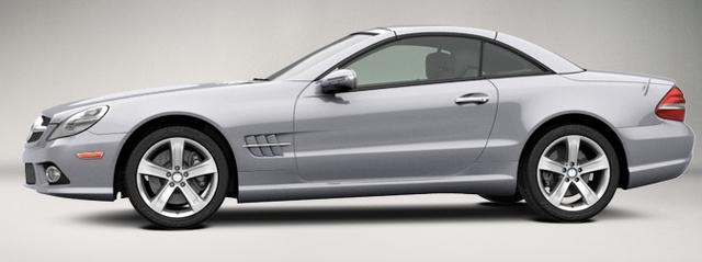 2009 Mercedes-Benz SL-Class, Left Side View, exterior, manufacturer
