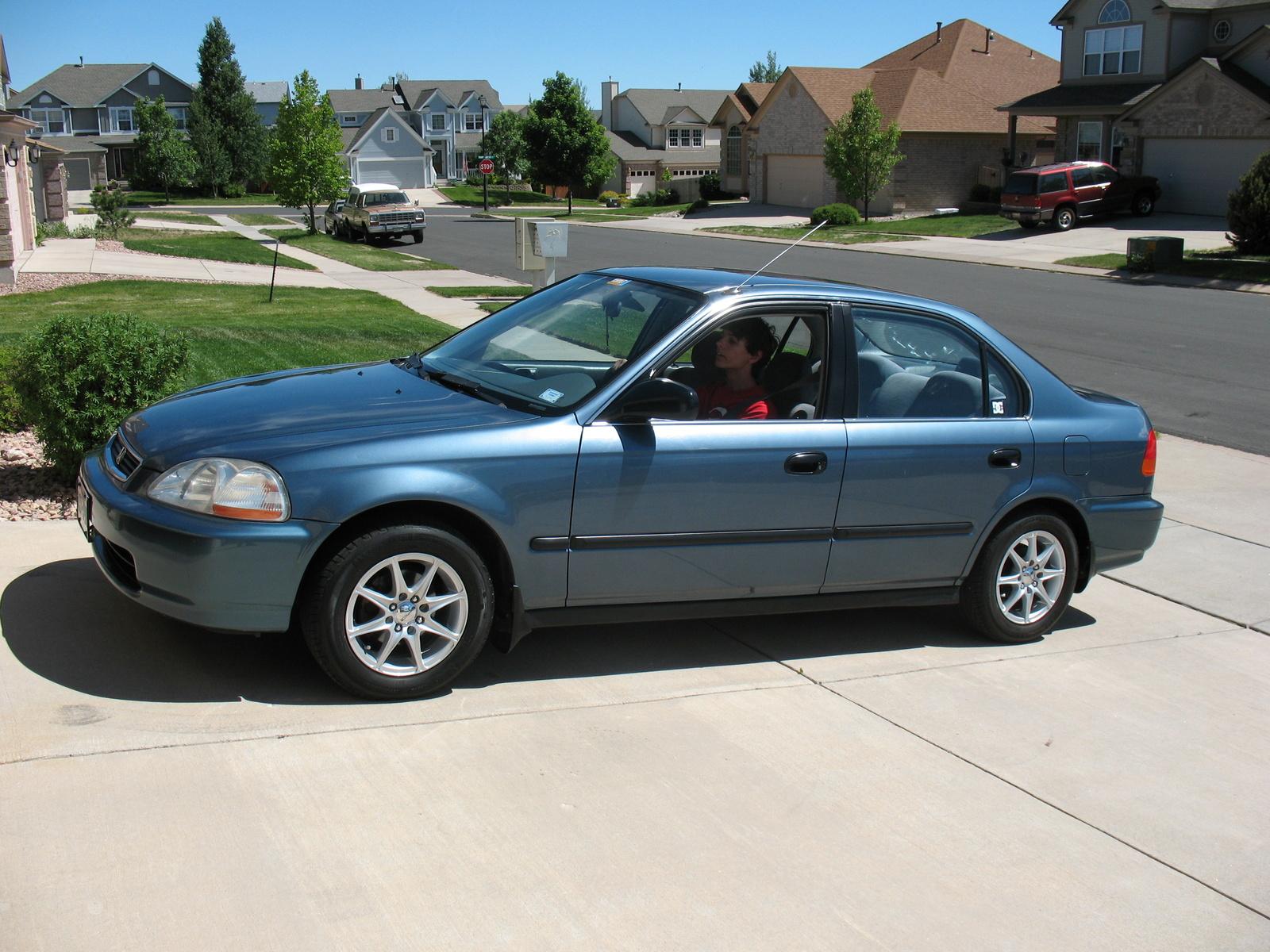 Honda Civic 1996 User Manual Lx Repair Ebay